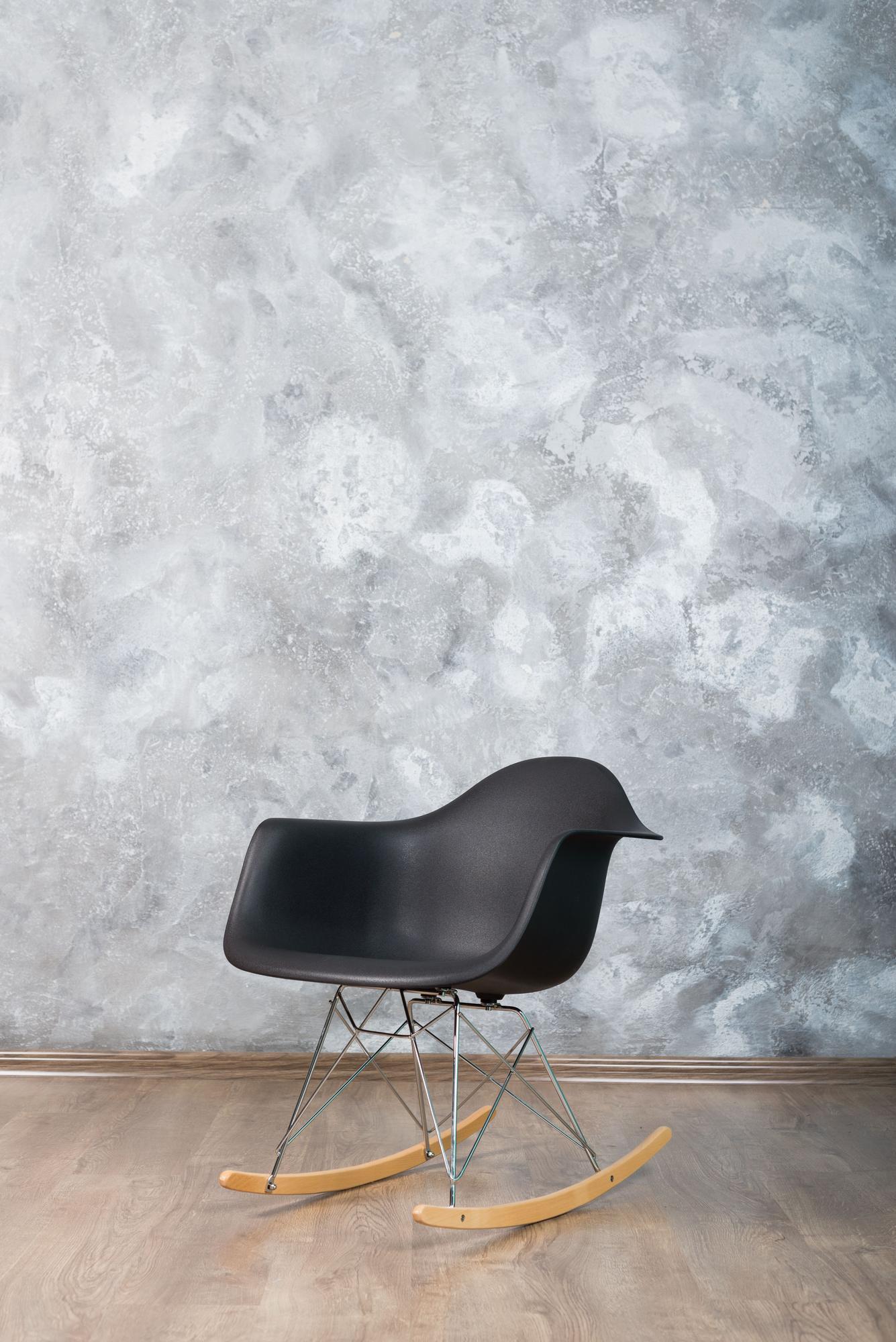 Фотозона с креслом-качалкой